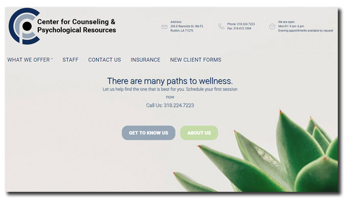 Center for Counseling & Psychological Resources